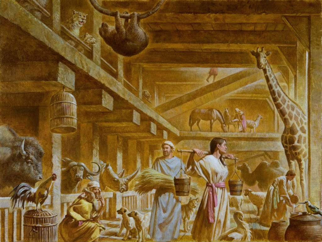 Gallery images and information: Real Noahs Ark Inside